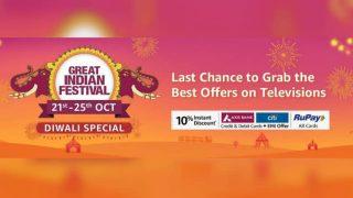 Amazon Great Indian Festival Sale में ये हैं 5 बेस्ट Smart TV डील्स