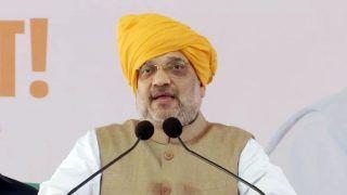 अपनी रैली में अमित शाह ने राहुल और पवार पर जमकर साधा निशान, कहा- देश तोड़ने वाले...