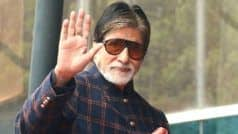 Big B's Fans Confused as Reports of Him Being Hospitalised Clash With Karva Chauth Celebration Pic