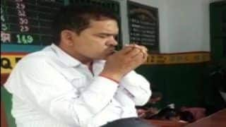 Uttar Pradesh Teacher Suspended After Video of Him Smoking in Class Goes Viral- Watch