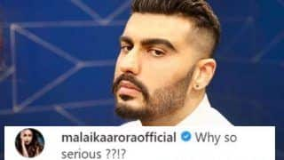 Arjun Kapoor Finally Answers Malaika Arora's Question - Why so Serious