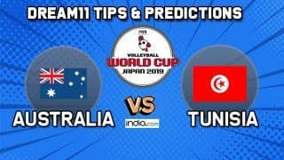 Dream11 Team Australia vs Tunisia Match 59 FIVB Volleyball Men's World Cup 2019 – Volleyball Prediction Tips For Today's Match AUS vs TUN in Hiroshima at 1:30 PM IST