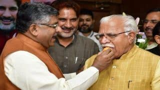 Great Diwali in Haryana as ML Khattar Set to Take Oath as CM, JJP's Dushyant to Become His Deputy Today | 10 Points