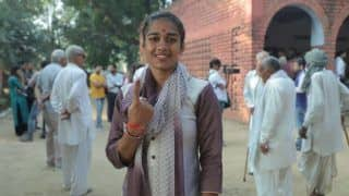 Babita Phogat Casts Vote, Vows to Promote Sports if Elected