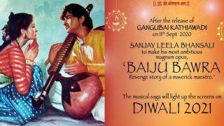 Sanjay Leela Bhansali Announces Baiju Bawra After Gangubai Kathiawadi, Film to Clash With Deepika Padukone's Mahabharata