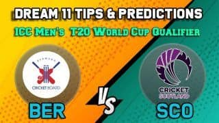 Dream11 Team Prediction Bermuda vs Scotland: Captain and Vice Captain For Today, Match 30  ICC Men's T20 World Cup Qualifier Between BER vs SCO at Dubai 9:00 PM IST October 24