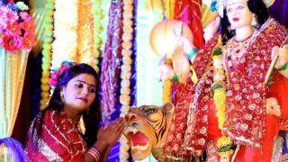 Sharad Navratri / Ashtami 2019: Best Devotional Bhojpuri Songs by Khesari Lal Yadav, Kajal Raghwani, Pawan Singh, Akshara Singh to Play on This Auspicious Occasion