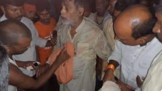 Bihar Floods: BJP MP Ram Kripal Yadav Falls into River As Makeshift Boat Overturns