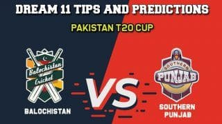 LIVE SCORE: BAL vs SOP Balochistan vs Southern Punjab  Pakistan T20 League National T20 Cup Match 9