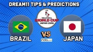 Dream11 Team Brazil vs Japan Match 60 FIVB Volleyball Men's World Cup 2019 – Volleyball Prediction Tips For Today's Match BRZ vs JPN in Hiroshima at 3:50 PM IST