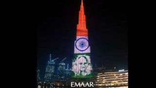 Dubai's Burj Khalifa Lights up With Images of Mahatma Gandhi on Gandhi Jayanti