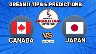 Dream11 Team Canada vs Japan Match 66 FIVB Volleyball Men's World Cup 2019 – Volleyball Prediction Tips For Today's Match CAN vs JPN in Hiroshima