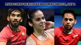 French Open Badminton 2019 Day 2 Highlights: Saina Nehwal Wins Opening Round, Ashwini Ponappa-Sikki Reddy Crash Out of Women's Doubles Race