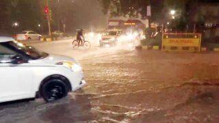 Heavy Rain Lashes Parts of Delhi-NCR, Brings Respite From Acute Humidity