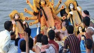 Centre Asks States To Impose a Fine of Rs 50,000 For Immersing Idols in Ganga