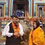 Maharashtra Assembly Election 2019: Day Ahead of Poll Results, CM Fadnavis Visits Kedarnath Temple to Seek Blessings