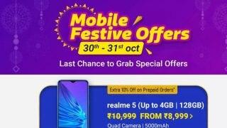 Flipkart Mobile Festive Offers सेल में ये 5 हैं बेस्ट स्मार्टफोन डील्स