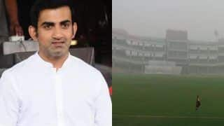 People Living in Delhi Should be More Concerned About The Pollution Levels Rather Than The Cricket Match: Gautam Gambhir