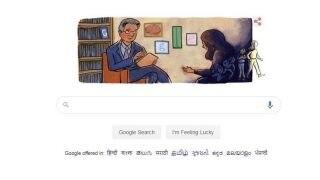 Google ने अपने Doodle को Dr Herbert Kleber को किया समर्पित, नशे की लत से छुड़ाने के लिए किए थे कई अहम काम
