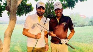 Virat Kohli's Cheeky Response to Harbhajan Singh's Post on Playing Golf With Kapil Dev