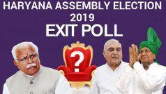 Haryana Assembly Election Exit Polls 2019 Live Updates: हरियाणा में किसकी बनेगी सरकार, यहां जानिए सभी एग्जिट पोल्स के नतीजे