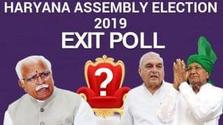 Times Now Exit Poll Result For Haryana Assembly Election 2019: CM Khattar, Hooda to Win Respective Seats