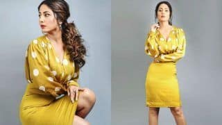 Hina Khan Opts For Striking Polka Dots in Latest Look, Check Hot Pictures