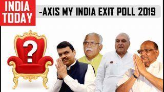 India Today-Axis My India Exit Poll 2019: BJP Ahead of Congress in Maharashtra and Haryana