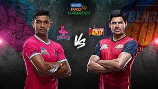 Dream11 Team JAI vs BLR Pro Kabaddi League 2019 – Kabaddi Prediction Tips For Today's PKL Match Jaipur Pink Panthers vs Bengaluru Bulls at Tau Devilal Sports Complex in Panchkula