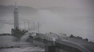 Japan Braces as Super Typhoon Hagibis Makes Landfall Near Island