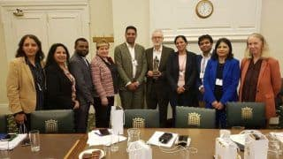 Congress Delegation Meets UK Leader Jeremy Corbyn Over Kashmir Issue; 'Appalling', Says BJP