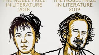 Nobel Prizes in Literature Awarded To Writers Olga Tokarczuk and Peter Handke
