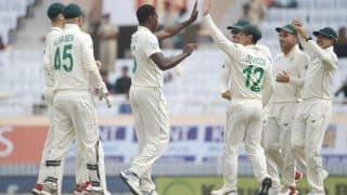 3rd Test: South Africa Pacers Trouble India in Seam-Friendly Morning Session
