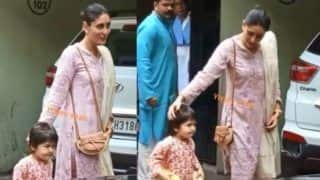 Taimur Ali Khan's Angry Diwali Wish to Paparazzi Embarrasses Kareena Kapoor Khan, Video Goes Viral
