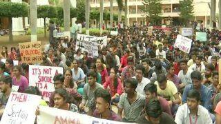 Karnataka: Protests Break Out After Engineering College Student Kills Self Over Harassment by Management