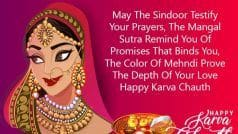 Happy Karva Chauth 2019: करवाचौथ पर भेजें ये WhatsApp, Facebook Status, Messages, Quotes