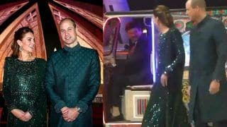 Prince William And Kate Middleton Use an Autorickshaw to Reach National Museum in Pakistan For Dinner