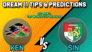 Dream11 Team Prediction Kenya vs Singapore: Captain And Vice Captain For Today Match 24, ICC Men's T20 World Cup Qualifier 2019:  Between KEN vs SIN at Dubai 3:40 PM IST October 23