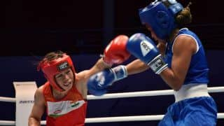 2019 Women's World Boxing Championships: Mary Kom Settles For Bronze After Losing to Busenaz Cakiroglu in Semi-Final