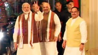 'Humbled to Get People's Support Yet Again,' Says PM Modi as BJP Makes Way For Victory in Maharashtra, Haryana