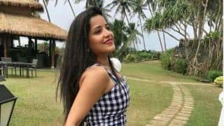 Bhojpuri Hottie Monalisa Looks Breathtakingly Beautiful in Black And White Outfit