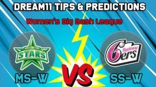 Sydney Sixers Women vs Melbourne Stars Women Dream11 Team Prediction Women's Big Bash League 2019: Captain And Vice Captain For Today WBBL Match 21 MS-W vs SS-W at W.A.C.A. Ground, Perth at 8:30 AM IST