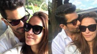 Angad Bedi And Neha Dhupia's Latest Instagram Selfies Radiate Love And Chemistry Big Time - Viral Photos
