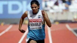 400m Runner Nirmala Sheoran Banned For Four Years For Doping