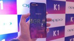 Flipkart Big Diwali Days: मात्र 9,990 रुपये में खरीदें इन-डिस्प्ले फिंगरप्रिंट सेंसर वाला Oppo K1 स्मार्टफोन