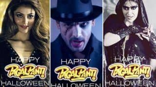 Urvashi Rautela's Annabelle-Ileana D'Cruz' Maleficent Look Along With Other Pagalpanti Stars Spooks Fans on Halloween