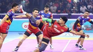 Pawan Sehrawat Stars as Bengaluru Bulls Beat UP Yoddha in Eliminator 1