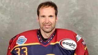 Legendary Goalkeeper Petr Cech Signs With Ice Hockey Club Guildford Phoenix
