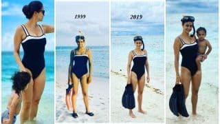 Gul Panag's Hot Pictures in Swimsuit as She Goes Snorkelling With Son at Maldives Are Mommy-Goals!