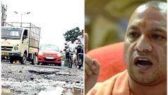 मुख्यमंत्री योगी ने अधिकारियों को लगाई फटकार, कहा- 15 नवंबर तक गड्ढामुक्त हो प्रदेश